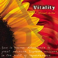 Vitality is a lush, rejuvenating collection of original songs by Stevan Pasero, Michael Becker, Christopher Bock and Brian Withycomb featuring guitars, percussion, keyboards and bass. This CD is soothing, yet invigorates the senses with hip beats and creative compositions. Tracks: Free Fall, Take Off, Neptune's Dance, Sciencefaction, Tribal Hop, We Hold the Answer, Isle of Naso, To Love Myself, Tom Walk.