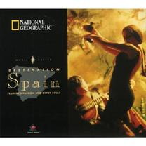 National Geographic Music Series: Spain - Flamenco Passion and Gypsy Souls - Emerging from the throes of Spain's turbulent history is the passion of flamenco, and the majestic nature of the classical guitar. Spain's music is as elaborately textured as its past, and represents a country of multi-dimensional identity. This collection invites you to experience the music as it echoes the aural mosaic of Spanish antiquity.  Researched and compiled by Executive Producer Stevan Pasero, this is one-of-a-kind album that accurately depicts the different genres of the regional music of Spain. If you think the music in Spain is limited to only flamenco, this CD will shatter those preconceptions. The uninitiated listener will be surprised that there are several languages and dialects represented on the album, all of which are native to Spain. It is refreshing to hear the celtic, Galician songs of northern Spain also represented on this compilation. The gaita (or bagpipe of northern Spain, in various incarnations) is even heard on the album, which is a wonderful treat. Also featured is the regional music of Madrid, Andalusian, Valencia, Canary Islands and Basque. The artwork is stunning, featuring a full color foldout with invaluable info, history, legends, timetables and more!